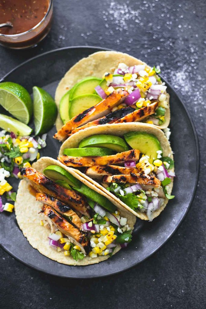 Mid Week Dinner Recipe Grilled Organic Chicken Tacos Spa It Girl